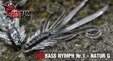 Nymfa RedBass S 53mm - Natur G