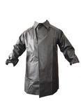 Kabát rybářský lovecký se zvýšeným límcem černý - XL