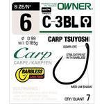 Háček bez protihrotu Owner  C-3BL Carp Tsuyoshi BL vel.2
