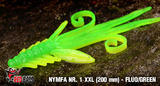 Nymfa RedBass XXL 200mm - Fluo Green