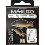 Navázané háčky Maruto Carp 10ks 0,20mm - vel.6