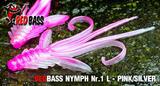 Nymfa RedBass L 80mm -Pink-Silver
