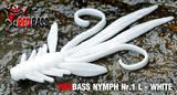 Nymfa RedBass L 80mm -White