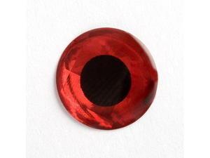 Holografické oči 3D 20ks Červená - 9mm