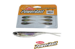 "Smáček Berkley Power Bait Drop Shot Minnow 6ks 2"" (5cm) - Natural - 1"