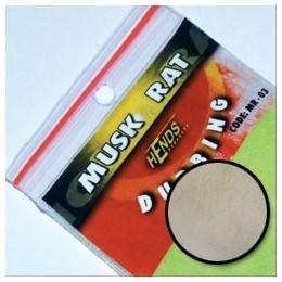 Muskrat Dubbing - ondatra MR24 - krémově bílá