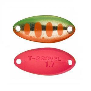 Plandavka Illex T-Grovel Spoon 2,8g - Green Orange Yamame - Fluo Pink