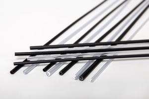 Náhradní PVC trubička na krmítka a zátěže černá 1,2m - 4,0mm