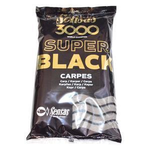 Krmení Sensas 3000 Super Black Carpes - Kapr černé 1kg