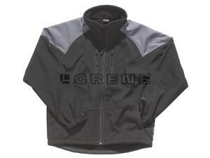 Bunda Grene GWT Soft shell černá - M