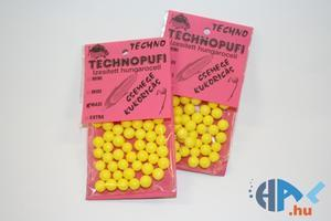Aromatizované polystyrenové kuličky Technopufi - Midi - žlutá - kukuřice