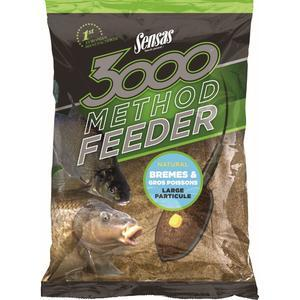 Krmení Sensas 3000 Method Feeder 1kg - Bremes Gross Poissons - 1