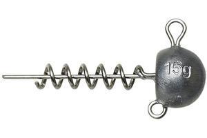 Jigová hlavička zavrtávací Savage Gear Ball Corkscrew Heads 15g - 1
