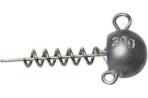 Jigová hlavička zavrtávací Savage Gear Ball Corkscrew Heads 20g - 1