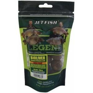 Extra tvrdé boilie Jet Fish Legend 24mm 250g - Bioliver Ananas/N-Butyric acid
