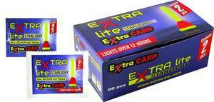 Chemické světlo Extra Carp 2ks 3,0x39mm - žluté