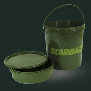 Kbelík na nástrahy Starbaits Bait Bucket 21L + vanička - 1