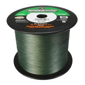 Šňůra Spiderwire Stealth Smooth 8 Green 0,40mm 49,2kg - návin