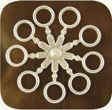 Silikonové kroužky na pelety Extra Carp 18ks 8,5mm - 1