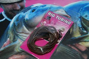 Hadička PVC LK Baits Rig Tubing 2m Camo Brown