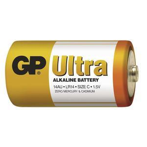 Alkalická baterie GP Ultra 14AU LR14 1,5V
