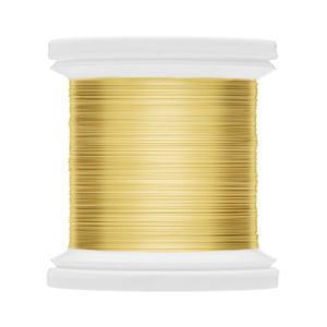 Colour Wire tinsel Hends 0,18mm 01 - zlatý