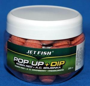 Plovoucí boilie Jet Fish Original Pop Up - 16mm 65g - Mystic + A.C. Mystic