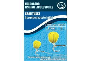 Návnadový osten s gumovým kroužkem Haldorádó 12ks 10mm
