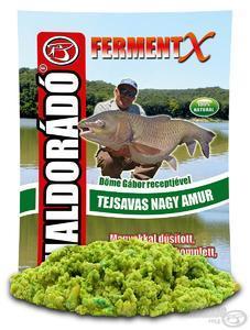 Krmítková směs Haldorádó Fermentx 900g - Velký amur