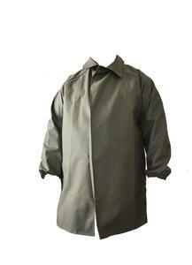 Kabát rybářský lovecký se zvýšeným límcem VINYTOL zelený - XL - 1