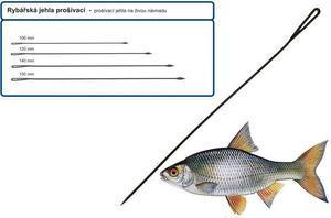Rybářská jehla prošívací 10cm 5ks