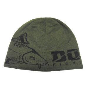 Zimní čepice DOC Carp khaki-černá
