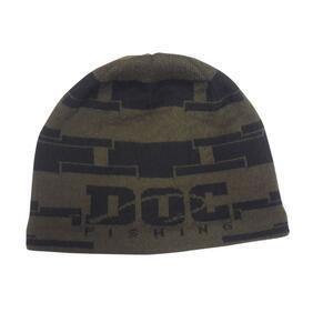 Zimní čepice DOC Cube - černé logo