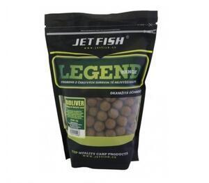 Boilies Jet Fish Legend 1kg 20mm Bioliver - Ananas - N-Butyric Acid - 1