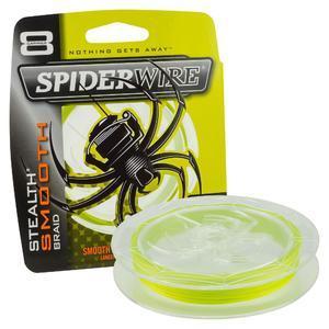 Šňůra Spiderwire Stealth Smooth 8 Yellow 150m - 6,6kg - 0,06mm - 1
