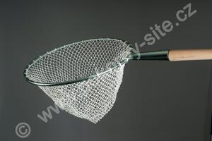 Keser plůdkový - kruhový  nerez průměr 43cm hl.40cm oka10/1mm