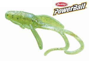 "Nymfa Berkley PowerBait 1"" - Chartreuse Silver Flake Scales - 1"