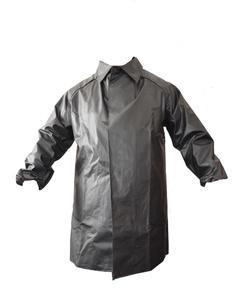 Kabát rybářský lovecký se zvýšeným límcem černý - M - 1
