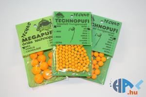 Aromatizované polystyrenové kuličky Technopufi - Midi - oranžová - med