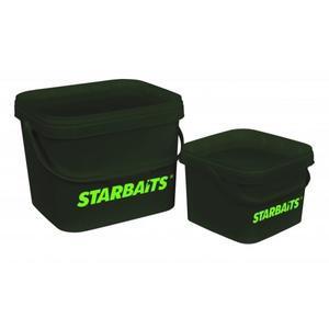 Kbelík s víkem Starbaits Square Bucket 3,5L