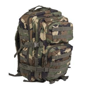 Batoh Mil-Tec Assault II WOODLAND 36L - 1