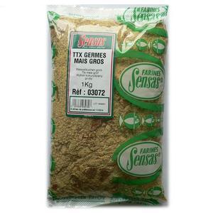 Sensas TTX Mais Gros - pomletá kukuřičná placka 1kg - hrubá - 1