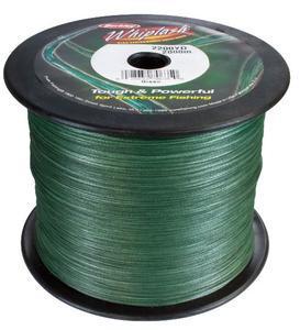 Pletená šňůra Berkley Whiplash New Green 0,16mm 19,80kg - návin