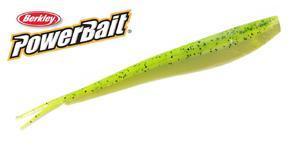 "Smáček Berkley Power Bait Original 4"" (10cm) - 8ks - Chartreuse Shad"
