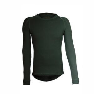 Termoprádlo Termovel hřejivé triko dlouhý rukáv - zelené - S - 1