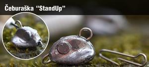 Jigová hlava čeburaška StandUp 5ks 15g - 1
