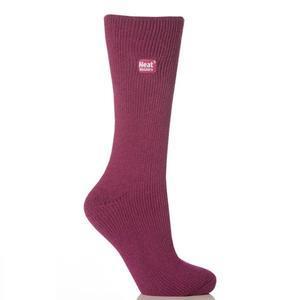 Dámské termo ponožky Heat Holders - malinová - 1