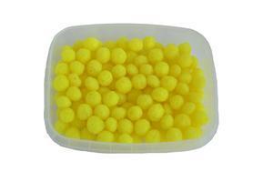Rybtrudy dipované měkčené 25g - fluo žlutá - Vanilka