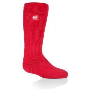 Dětské termo ponožky Heat Holders - červená - 1