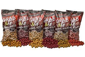 Boilie Starbaits Global Grab&Go 2,5kg - 20mm - Spice